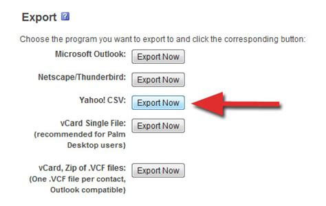 format csv yahoo add your friends from facebook to google plus
