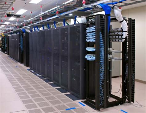 Server Rooms by Could Atom Based Servers Save Energy Hothardware