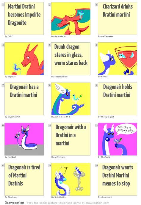 martini dratini martini dratini becomes impolite dragonite
