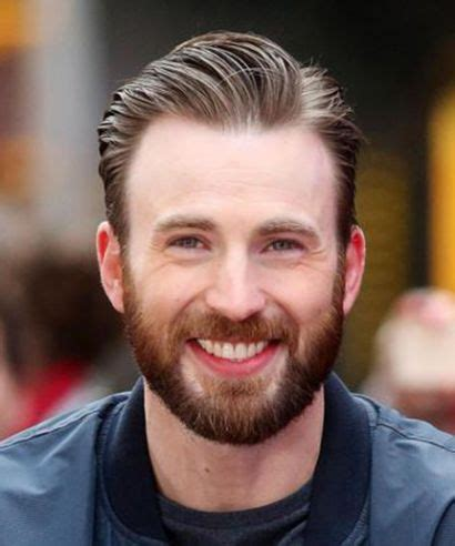 chris evans shaved beard captain america 3