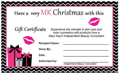 11 best photos of mary kay gift cards printable mary kay