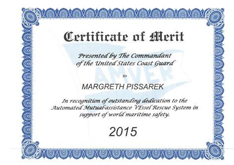 certificate of merit template 27 printable award certificates
