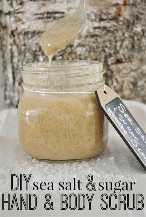 diy sea salt scrub diy sea salt sugar scrub 33