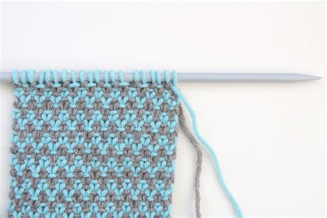 knitting second row how to knit the weaver s stitch leikitty