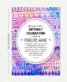invitation f 234 te anniversaire tribal invitation anniversaire
