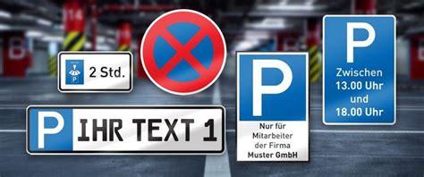 Aufkleber Drucken Lassen 24 Stunden by Parkschilder Und Parkverbotsschilder Einfach Online