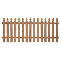 home depot fence pickets incense cedar fence panel common 3 1 2 ft