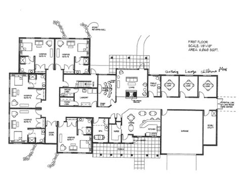 open floor plan blueprints big home blueprints open floor plans from houseplans com