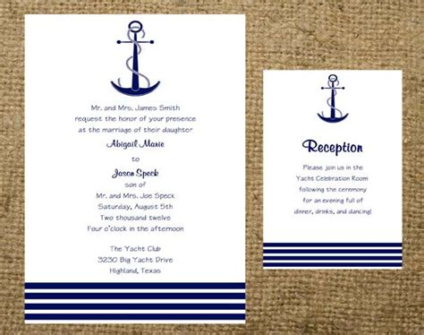 Wedding Invitation Templates Anchor Wedding Invitations Easytygermke Com Invitation Templates Anchor Wedding Invitation Templates