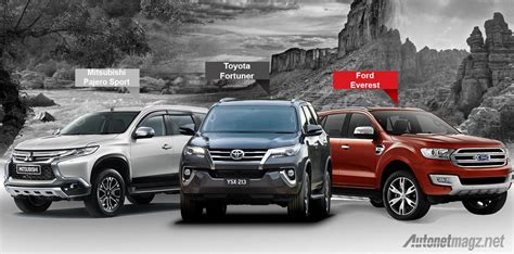 Modern Home Design Usa by Comparison Between Pajero Sport Vs Ford Everest Vs New