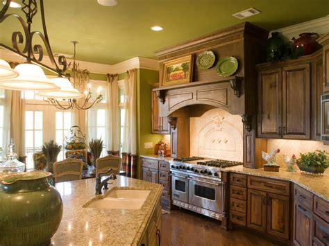 French Country Kitchen Colors | french country kitchen cabinet colors