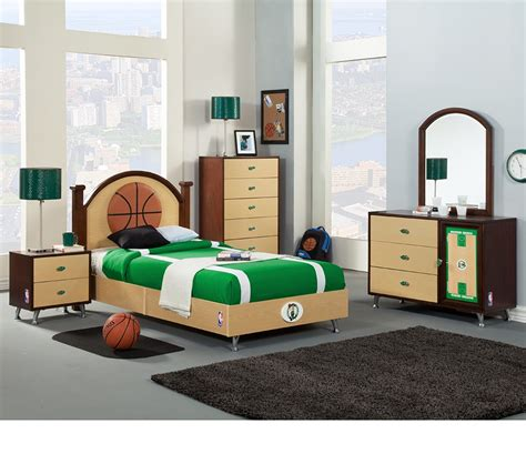 kids bedroom in a box dreamfurniture com nba basketball boston celtics bedroom