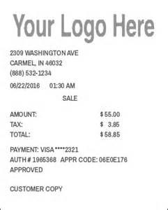 logo receipt expressexpense custom receipt maker