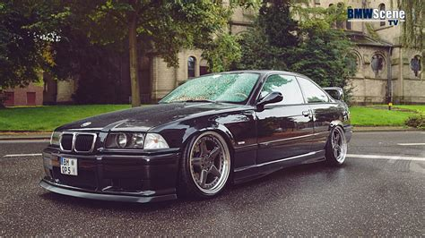 bmw e36 stanced bmw tv 1 e36 stance works folierungsspecial