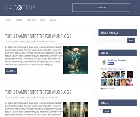 blogger themes free download 2014 magazine lovely awesomeness blogger templates free