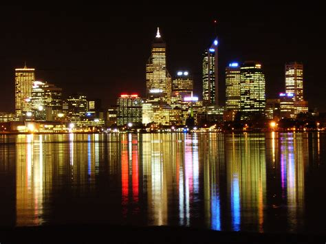 Perth Australia Worlds Best Beach Towns Perth Lights