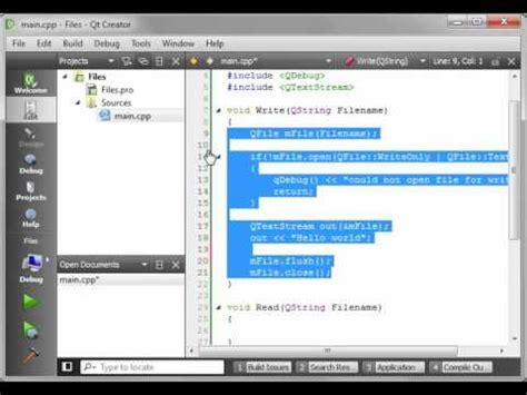 qt c gui tutorial 24 how to use qfiledialog youtube c gui with qt tutorial 3 qt creator modes funnycat tv