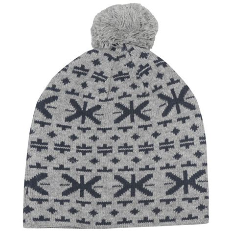 bench beanie hat bench mens footsteps bobble beanie hat clothing thehut com