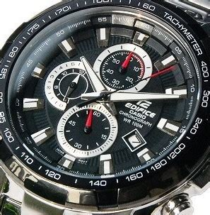 Promo Casio Edifice Ef539 Black Leather s watches casio edifice gents ef 539d 1a motorsport in stock was sold for r1 000