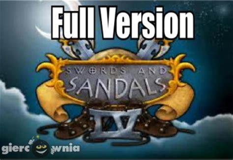 swords and sandals 4 version swords and sandals 4 tavern quests version darmowa