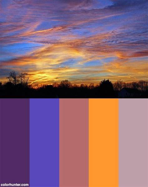sunset color scheme golden sunset color scheme drawing colors