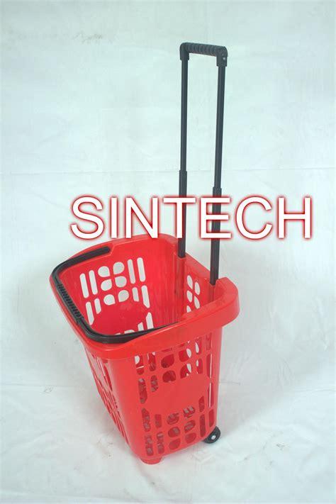 Keranjang Plastik Murah jual keranjang plastik tarik beroda harga murah gresik