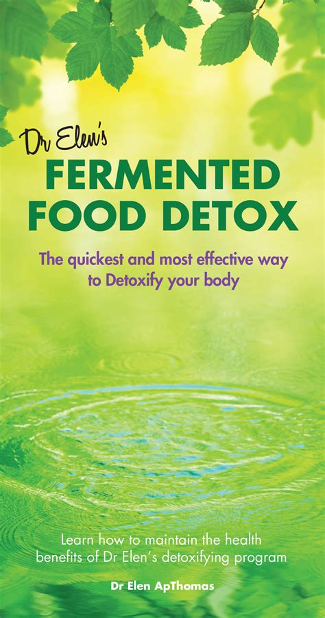 The Detox Book by Ffdetox 10 Day Fermented Food Detox The Book