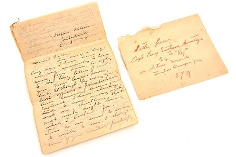 Letter In Zulu Horror That Met Soldiers In Anglo Zulu War Laid Bare In S Letter Home Wales