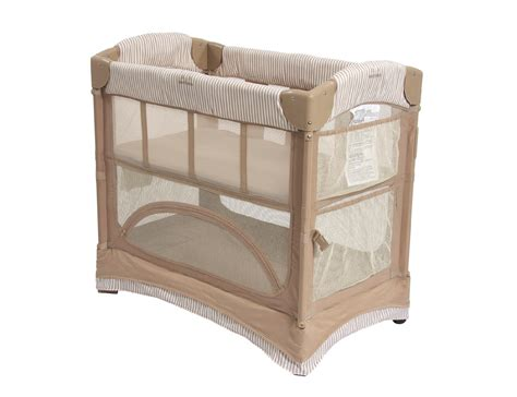 Arms Reach Co Sleeper by Arms Reach The Mini Arc Convertible Bedside Bassinet Cocoa