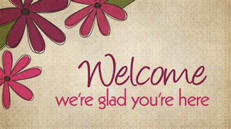opening welcome we re glad you re here landslide