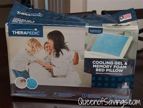 therapedic 174 cooling gel and memory foam pillow therapedic 174 memory foam bed pillow with hydraluxe gel