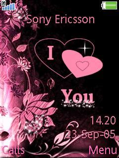 love themes sony ericsson download love sony ericsson theme mobile toones