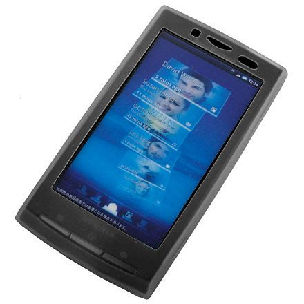 Casing Sony Ericsson K610k610i Goldtulang silicone for sony ericsson xperia x10 black