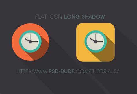 icon design tutorial photoshop long shadow flat icon photoshop tutorial photoshop