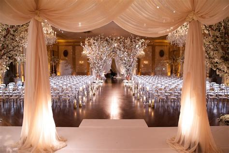 Small Indoor Home Wedding Ideas Ceremony D 233 Cor Photos Drapery At Indoor Ceremony