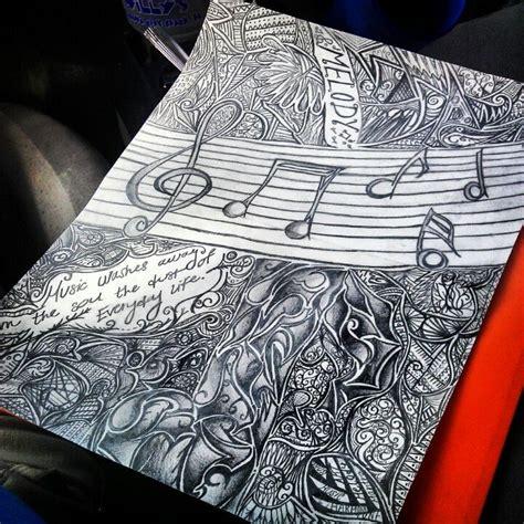 doodle pensil pencil doodles
