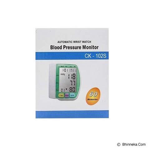Alat Pengukur Tekanan Darah Blood Pressure Tensimeter Pulse Sistol jual calliastore digital blood pressure murah bhinneka