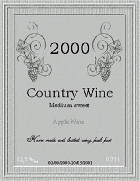 Wine Bottle Label Template Microsoft Word Top Label Maker Wine Label Template Word