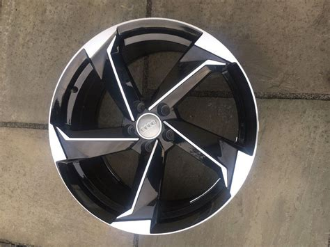 Audi A4 Rotor Felgen by New 18 Quot Inch Audi Rotor Alloy Wheels Twist A3 A4 A5 A6 Rs3