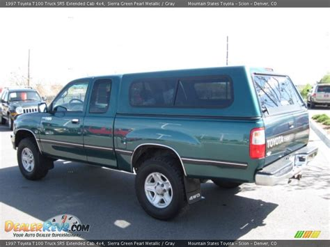 Toyota T100 4x4 1997 Toyota T100 Truck Sr5 Extended Cab 4x4 Green