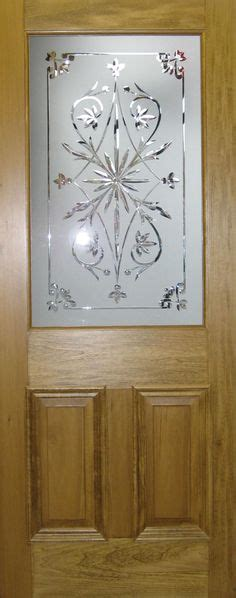 decorative glass cabinet door wesley sandblasted glass door and side panel created for clients