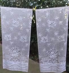 White Lace Curtain Panels White Lace Window Curtains French Lace Curtain Panels