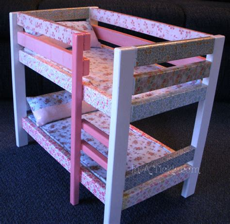 baby doll bunk beds loft bed free plans to build how to make a baby doll bunk