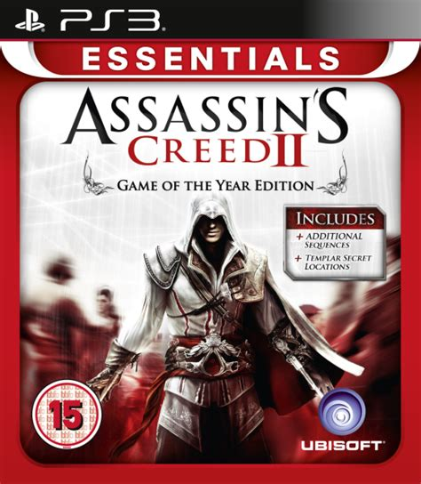 assassins creed the essential 1945210044 assassin s creed 2 game of the year essentials ps3 zavvi com
