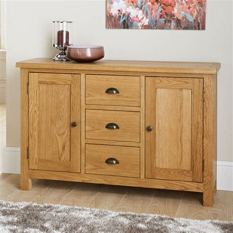 Wiltshire Wide Sideboard   Furniture, Oak Furniture