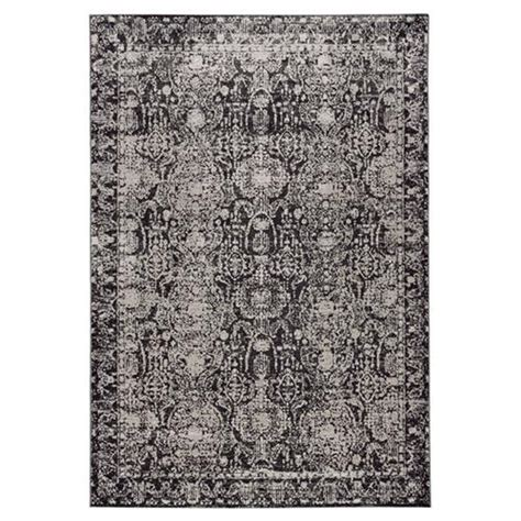 10 x 14 charcoal white gray rug modern charcoal grey rug 1 8 quot x 2 10 quot kathy kuo home