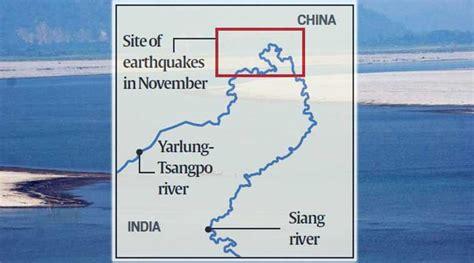 earthquake upsc what s darkening brahmaputra landslide not chinese
