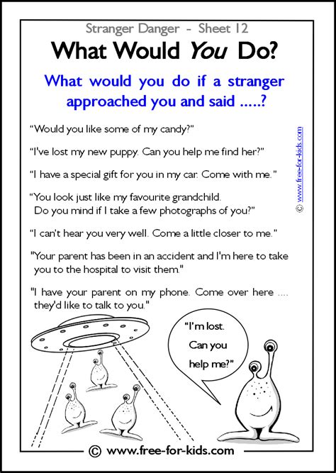 What Would You Do If Your Was At Home by More Danger Worksheets And Colouring Pages