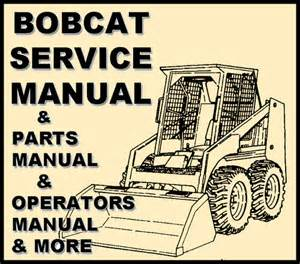 bobcat parts 743 manual skid steer complete parts catalog
