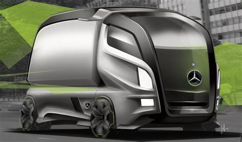 2020 Cars And Trucks by Mercedes Struktur Accelo Concept 2020 On Behance